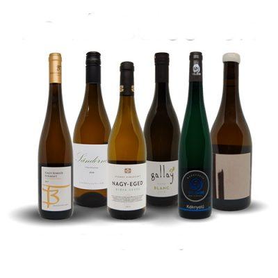 Fehér bor válogatás csomag